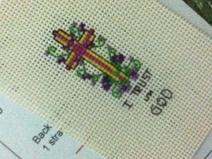 Crosstitch gift