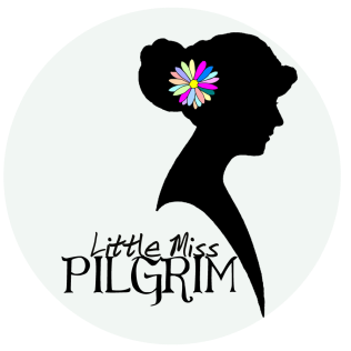 Little Miss Pilgrim Blog Logo