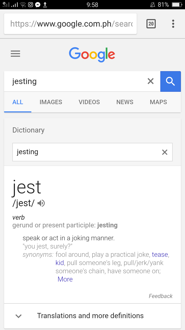 Are You Jesting? | Little Miss Pilgrim